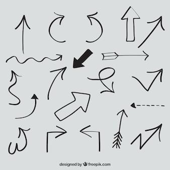 Sketchy arrows