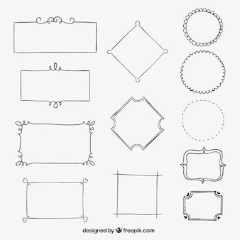 Sketched Frame Vectors Photos And Psd Files Free Download