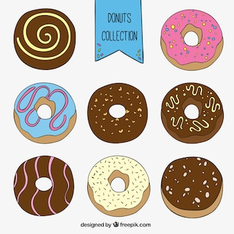 Sketchy donuts collection