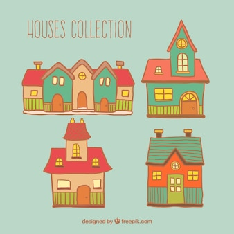 Sketchy houses collection
