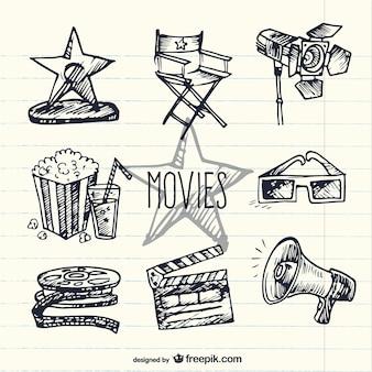 Sketchy movie elements