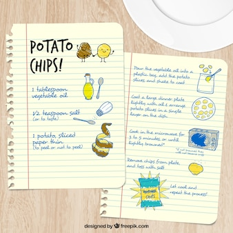 Sketchy potato chips recipe