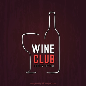 Sketchy wine club logo