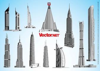 Skyscraper Vectors