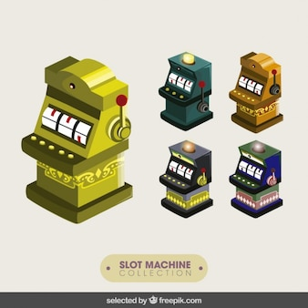 Slot machines collection
