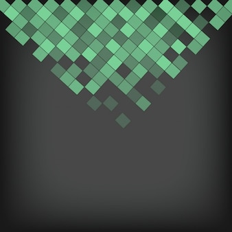 Small green squares background