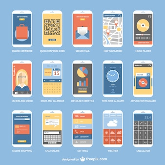 Smartphone apps collection