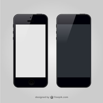 Smartphone front and back