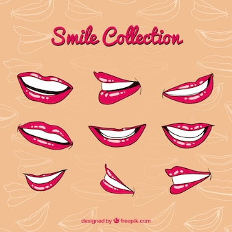 Smile mouth collection