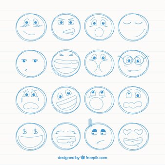 Smileys sketches pack