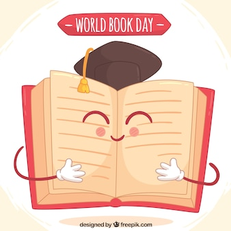Smiling book for world book day