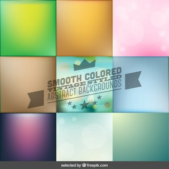 Smooth colored abstract backgrounds