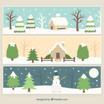 Snowed landscape pack