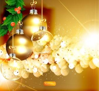 Snowflake celebration festive shine card