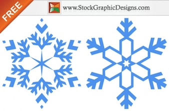 スノーフレーク無料ベクターグラフィック画像