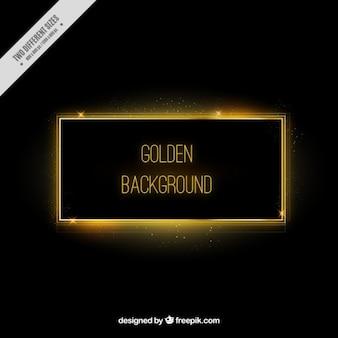 Sober golden background