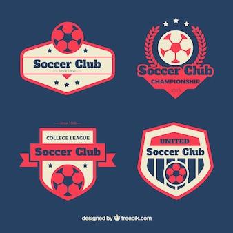 Soccer clubs badges