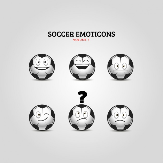 Soccer Emoticons Collection