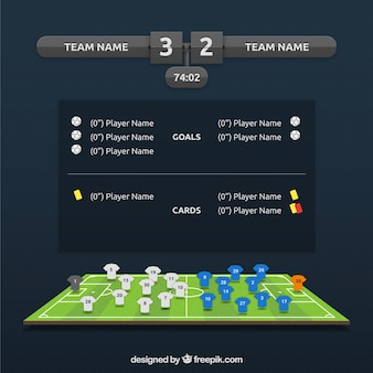 Soccer information match
