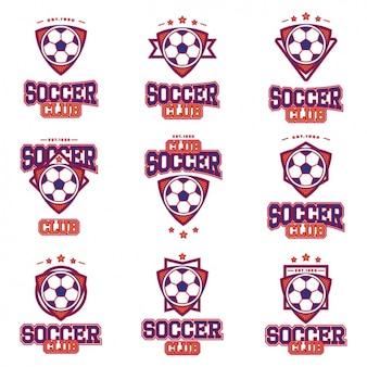 Soccer logos collection