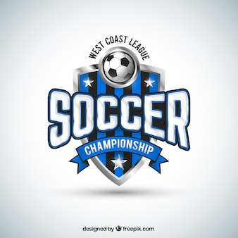 Soccer team badge