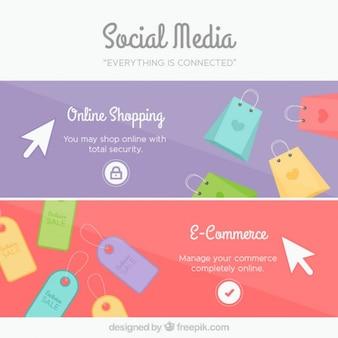 Social media banners