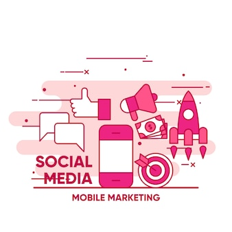 Social media elements collection