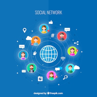 social network connectivity