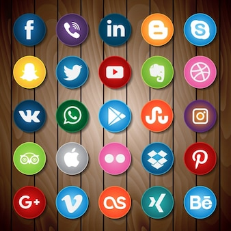 Social network icons collection