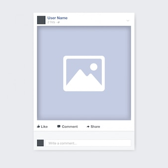 Social network photo frame design