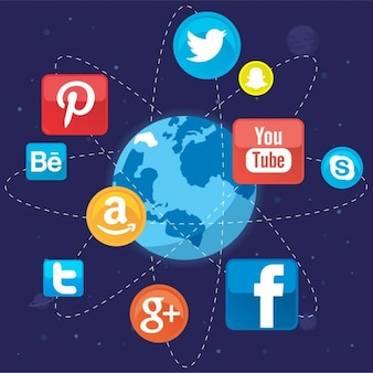 Social networks around the world