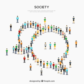 Society background design