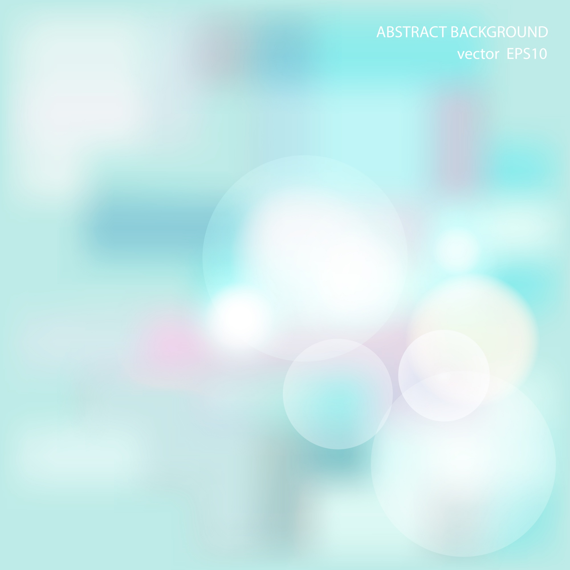 Soft blueabstract background
