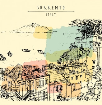 Sorrento background design