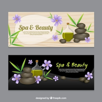 Spa and beauty banners