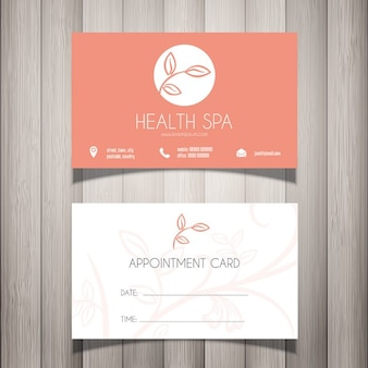Spa corporate card