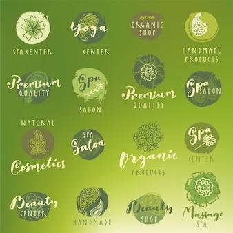 Spa logo collection