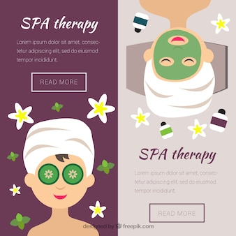 Spa session banners