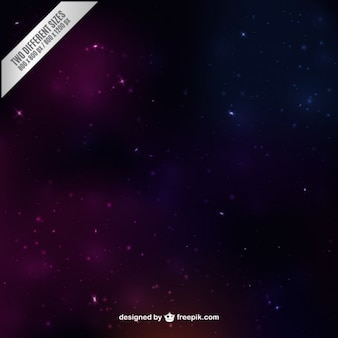Space background in purple and pink tones