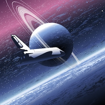 Spaceship in the universe