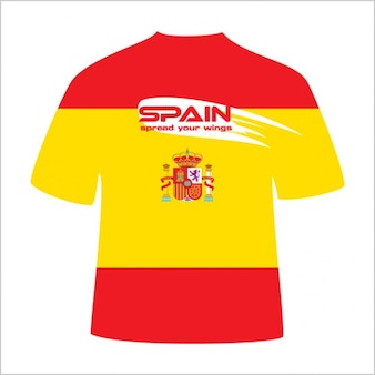 Spain T-Shirt design vector