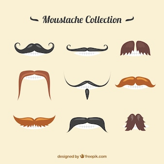 Special moustache collection
