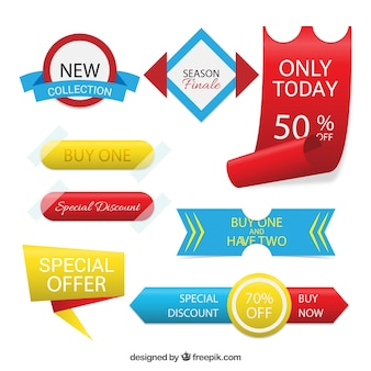 Special offer badges