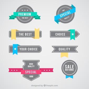 Special offer badges