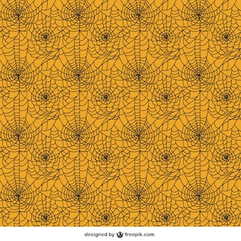 Spider web pattern in abstract style
