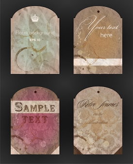 Splat textured website element tape