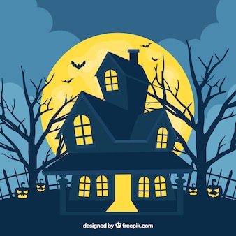 spooky halloween house - Halloween House Pictures