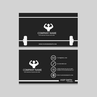 Sport business card design