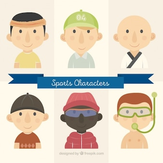 Sport character collection