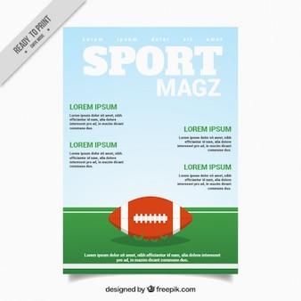 Sport magazine about baseball